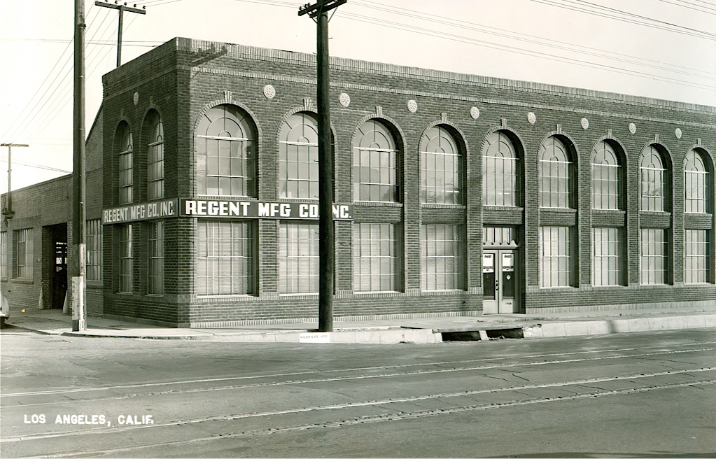 Picture of the original AGE Logistics (formerly Regent Manufacturing) facility 1929