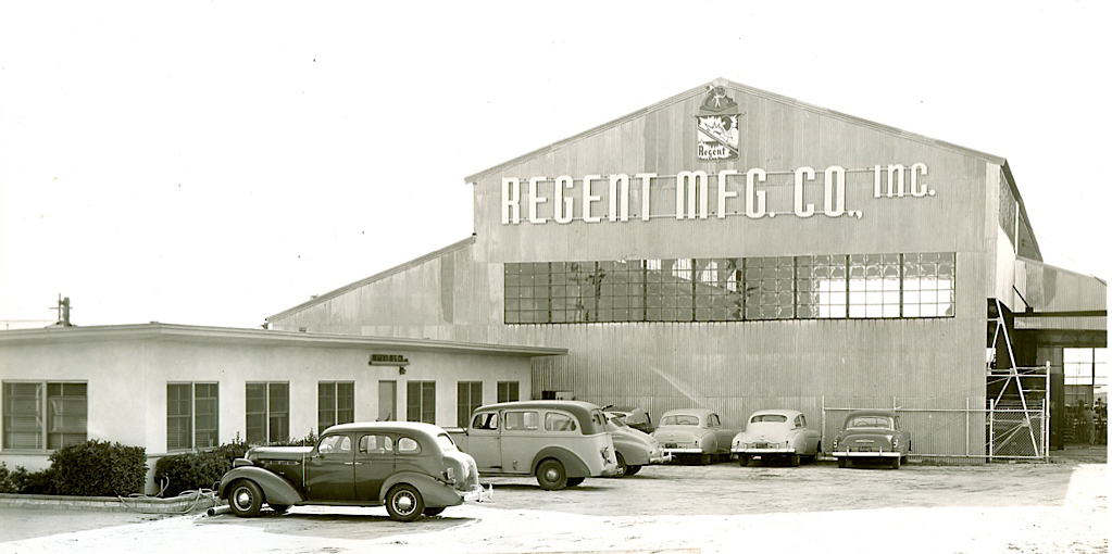 Picture of AGE Logistics, formerly Regent Manufacturing, facility 1951
