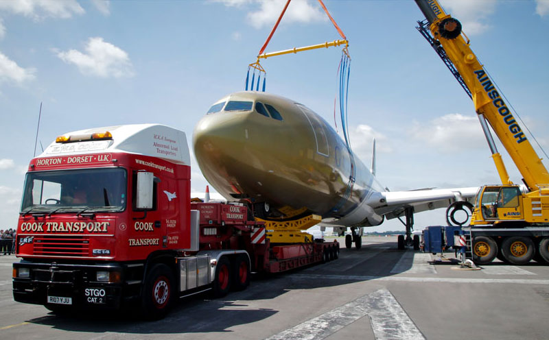 Universal Fuselage Lifting Systems Age Logistics Corporation
